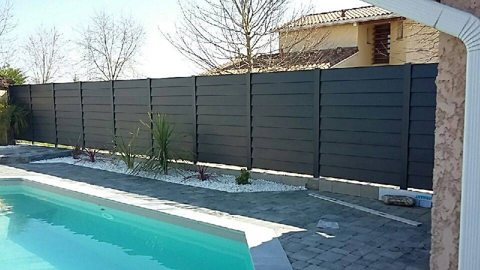 cl ture optima r alis sur toulouse fabrication et pose de portail volets et pergola autour. Black Bedroom Furniture Sets. Home Design Ideas
