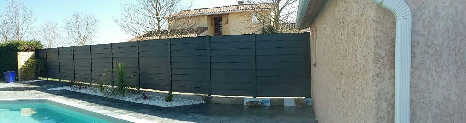 cl ture aluminium r alis sur toulouse fabrication et. Black Bedroom Furniture Sets. Home Design Ideas