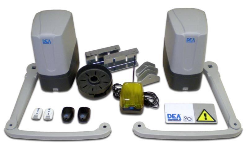 kit dea 2 vantaux geko fabrication et pose de portail. Black Bedroom Furniture Sets. Home Design Ideas